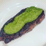Chuck Eye Steaks with Jalapeno Chimichurri Sauce