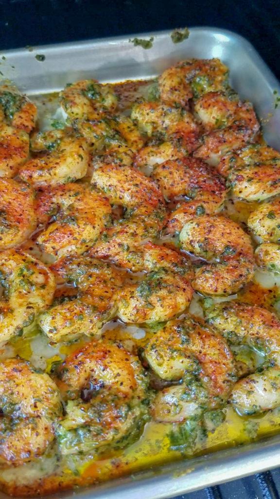 Pesto Shrimp