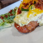 Jalapeno Popper Smothered Pork Chops – Low Carb